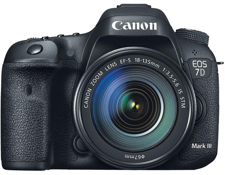 Возможный внешний вид Canon EOS 7D Mark III
