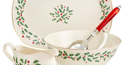 Lenox Holiday Christmas Serving Pieces - Reviews
