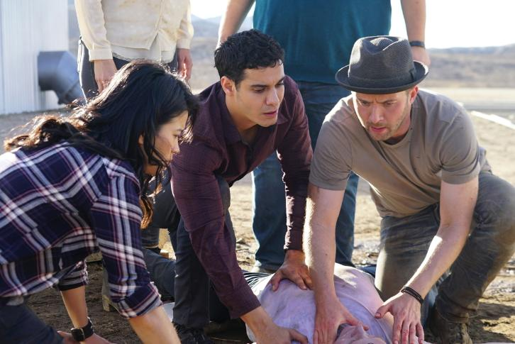 Scorpion 3x12 Review Ice Ca Cabes Hes My Father Guest