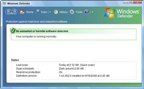 Mematikan Permanen Windows Defender WIn 7