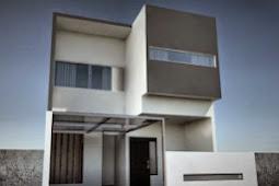 Contoh Rumah Minimalis 2 Lantai Luas Tanah 90