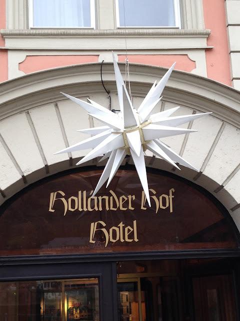 Christmas Hotel Holländer Hof Heidelberg