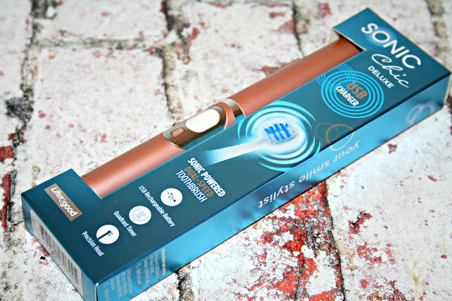 Sonic Chic Deluxe Rose Gold Toothbrush
