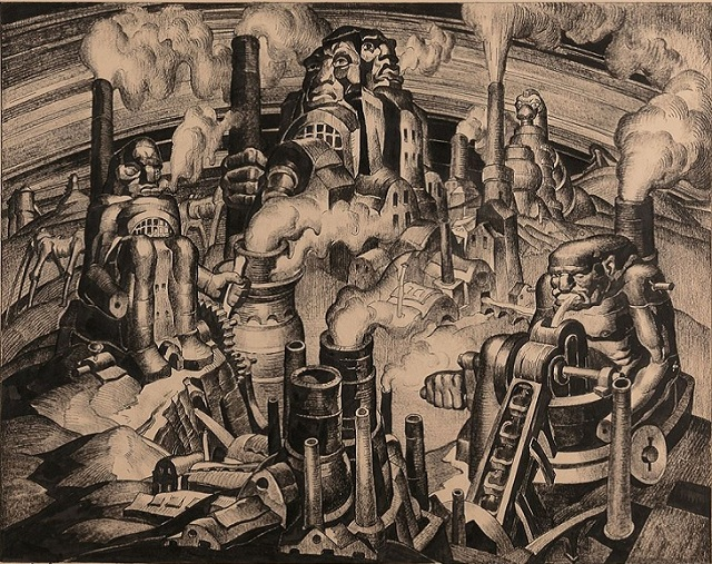 Pengertian Gerakan Seni Futurisme Serta Contoh Lukisan Gambar