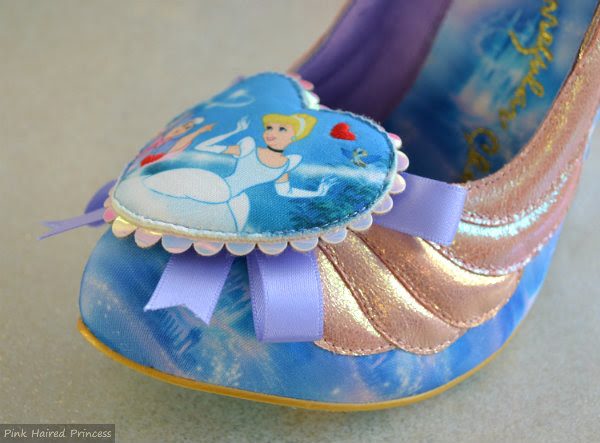 irregular choice faith in dreams shoe cinderella heart