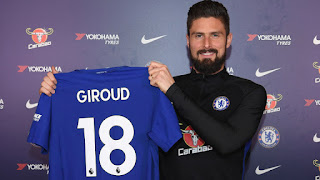 Sports Update!!!!  'Wenger Disappointed Me By Buying Aubameyang'- Chelsea Striker Olivier Giroud