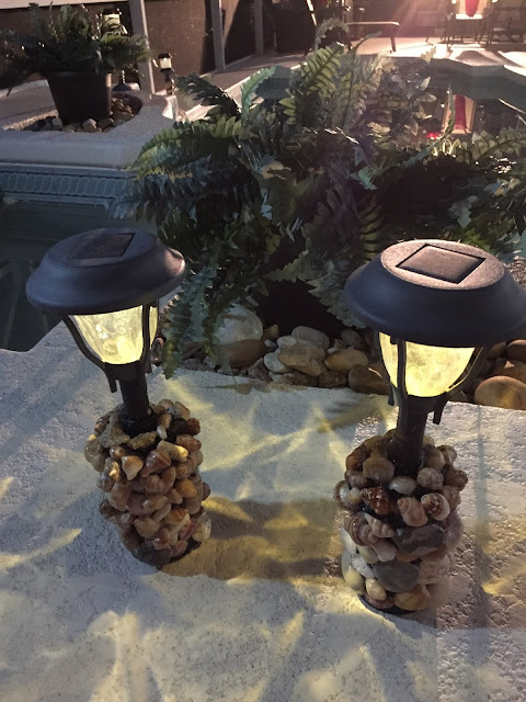 Seashells and Sea Shell Solar Lights