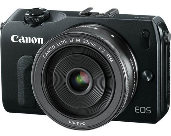 Fotografia della Canon EOS-M
