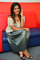 Eesha in a cute deep neck top and Skirt at at Big FM 042.JPG