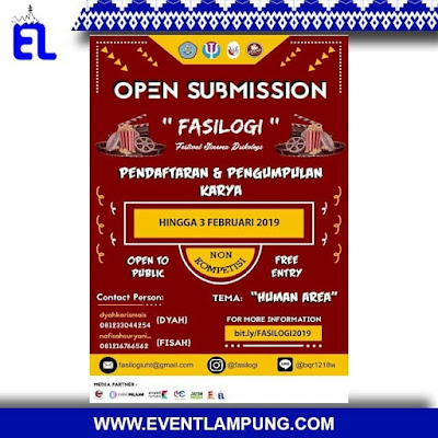 OPEN SUBMISSION FASILOGI 2019