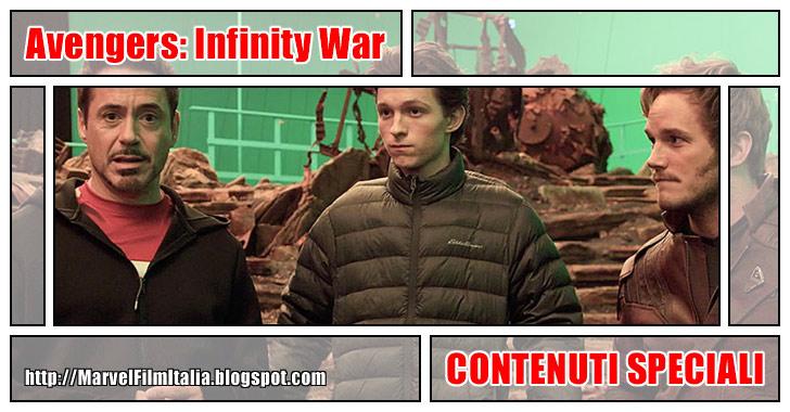 "Marvel Film Italia: Avengers: Infinity War (2018) - Speciale: ""Ora in produzione"" dietro le quinte"