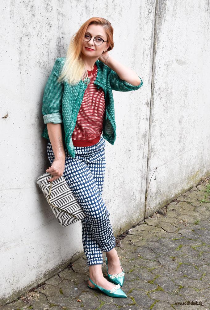 So stylst Du Karomuster mit Punkten, Ü40 Blog