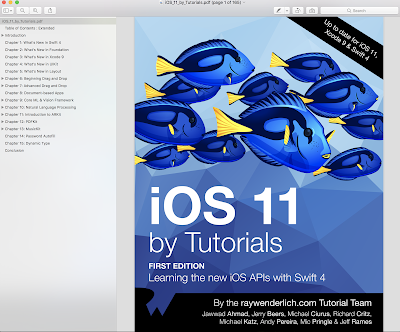 iOS 11 by Tutorials Ray Wenderlich, IOS 11 and Swift 4