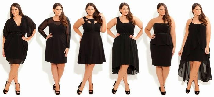 5ba8ddfeaff Different Body Shapes for Plus Size Little Black Dresses