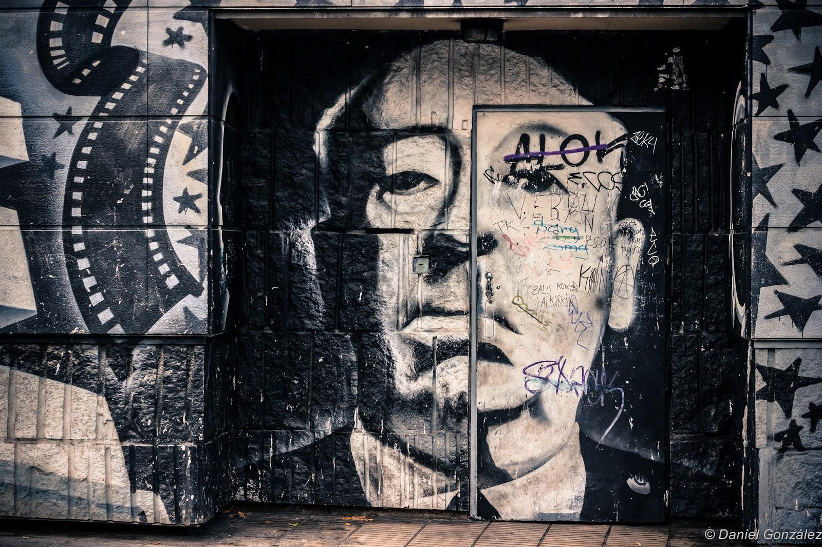 Alfred Hitchcock Graffiti, Alcorcón 2012