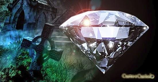 diamantes de restos mortais