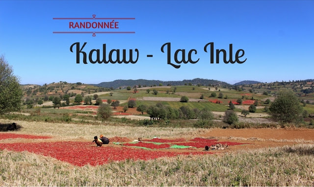 Randonnée 2 jours 1 nuit de Kalaw au lac Inle avec l'agence Sam's Family - Birmanie