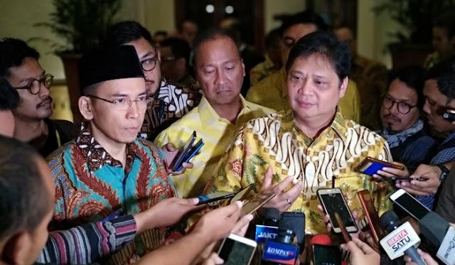 TGB Ungkap Tiga Alasan Masuk Partai Golkar