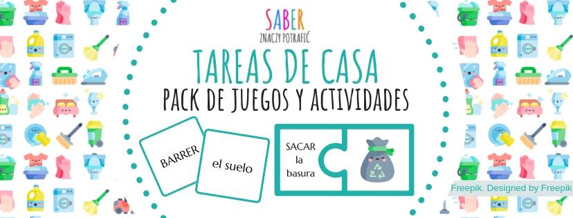 TAREAS DE CASA: pack de juegos y actividades | OBOWIĄZKI DOMOWE: gry i ćwiczenia