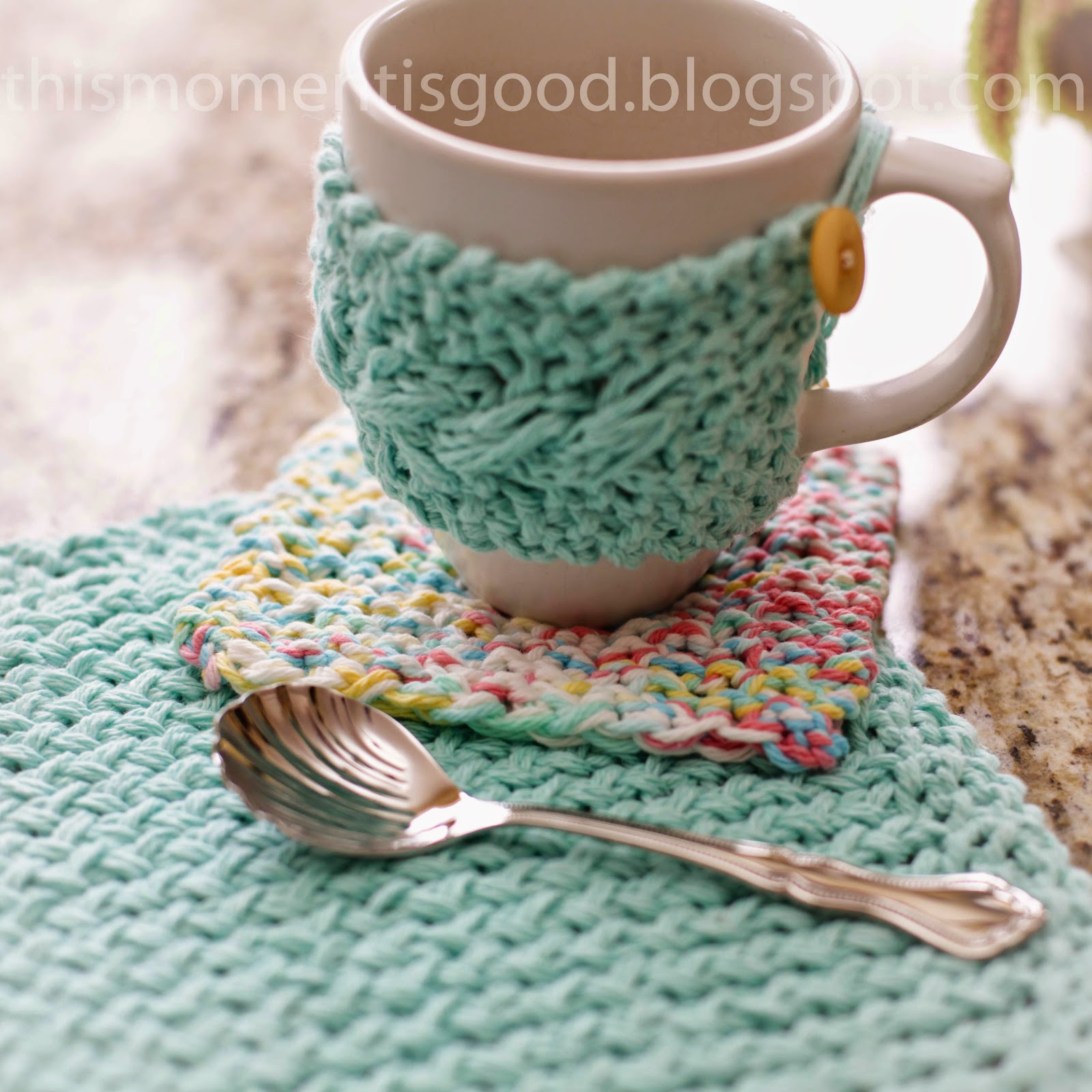 FREE LOOM KNIT KITCHEN SET PATTERN | Loom Knitting by This Moment is ...