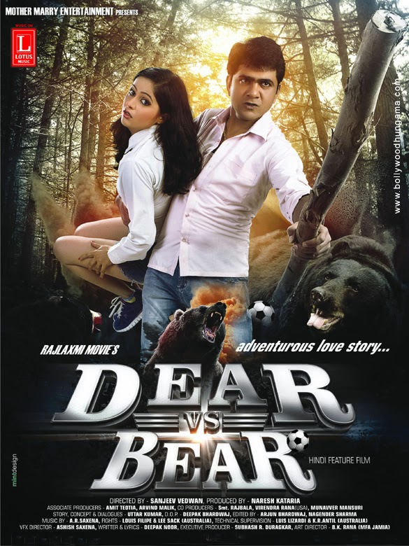 Dear Vs Bear 2014 Hindi DVDScr 350mb