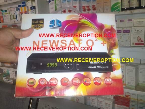 NEWSAT O2 PLUS HD RECEIVER CCCAM OPTION