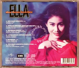 Kunci Chord Gitar Ella - Dua Insan Bercinta