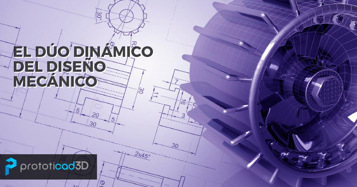 AutoCAD e Inventor, el dúo dinámico del Diseño Mecánico