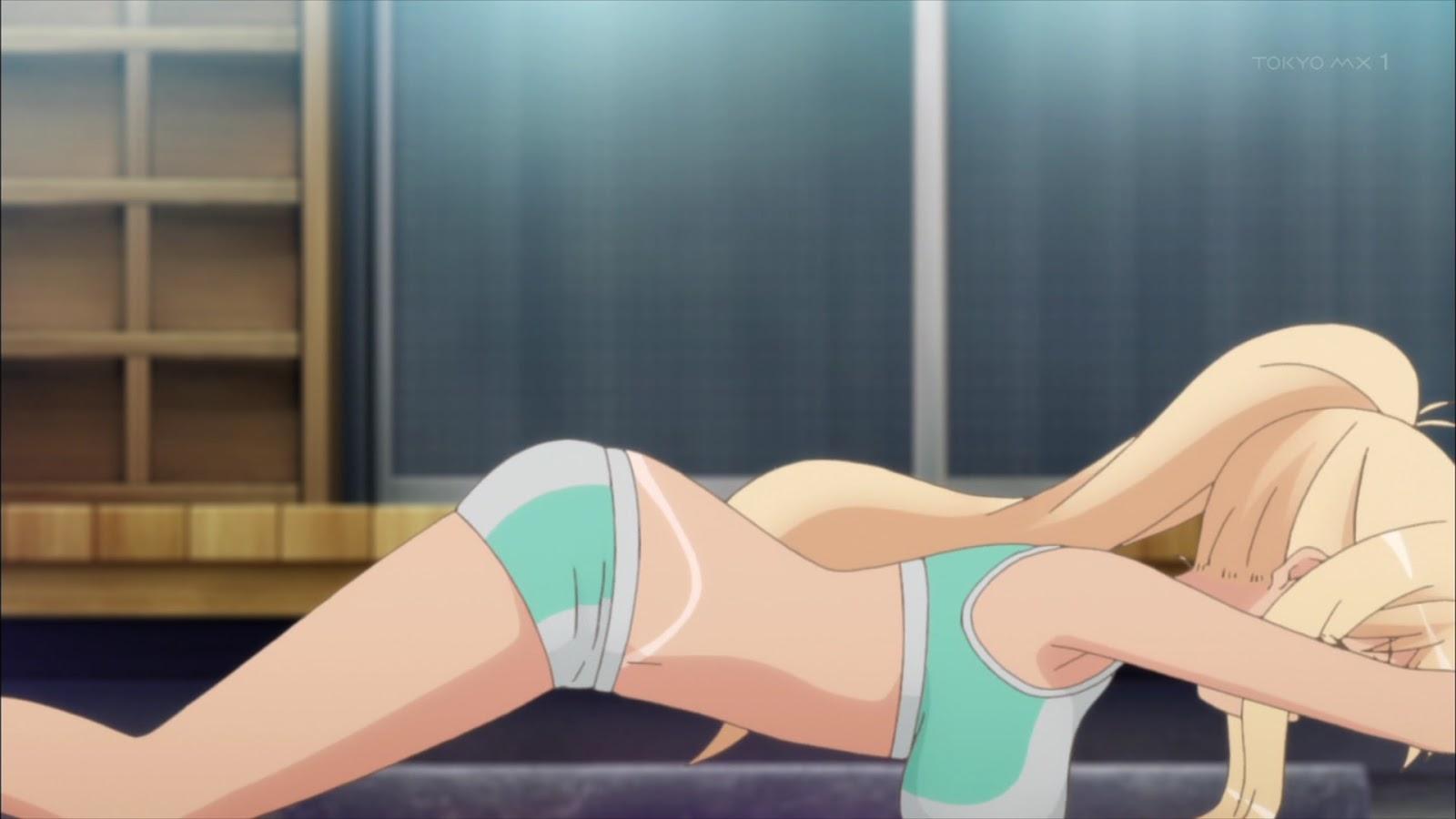 Sunoharasou no Kanrinin-san Episódio 7 - cenas e gifs