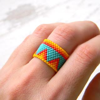 авторские украшения ручной работы купить кольцо на палец в этническом стиле