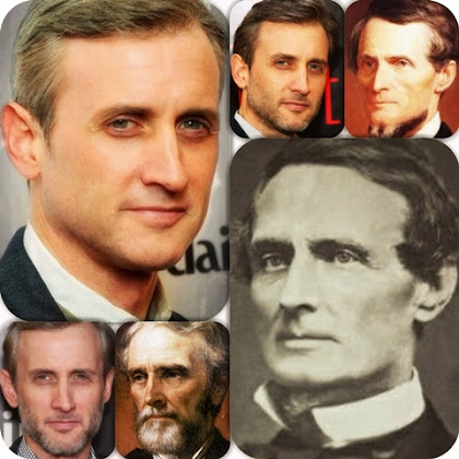 Dan Abrams looks like Jefferson Davis look alike Same Soul Reincarnation within Smart with Handsome is Reincarnated