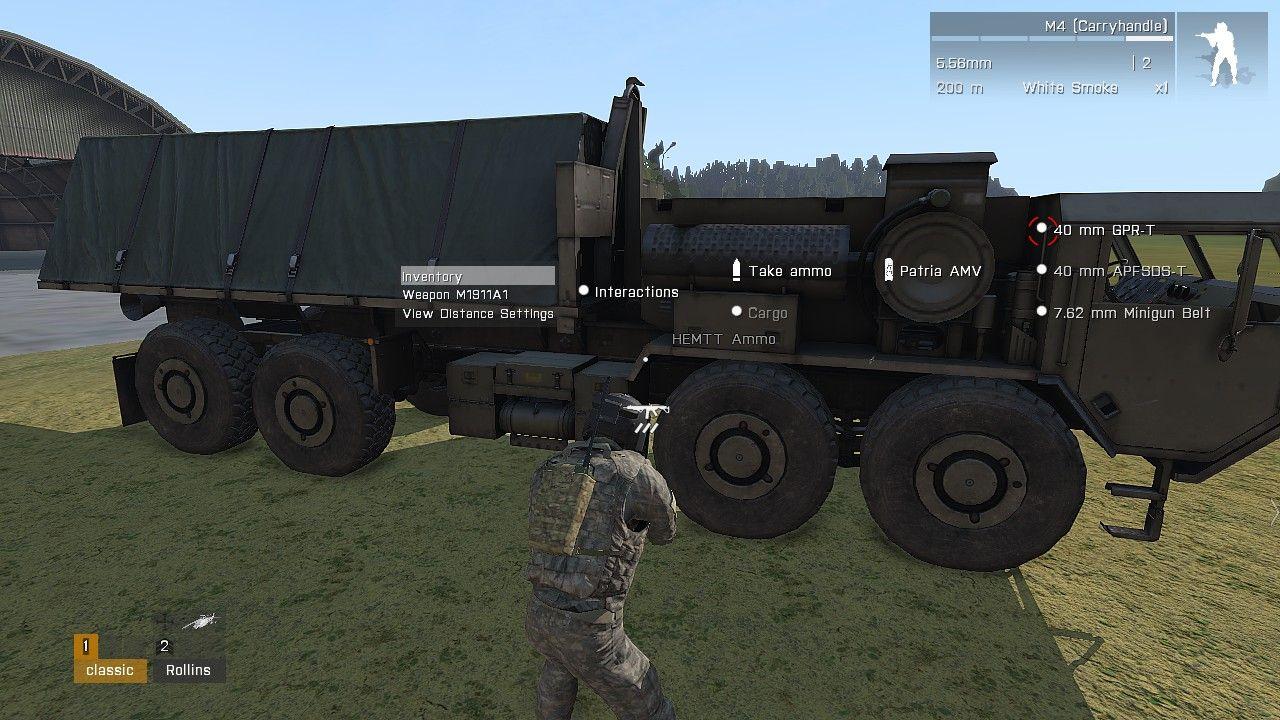 arma 3 ace how to change settings