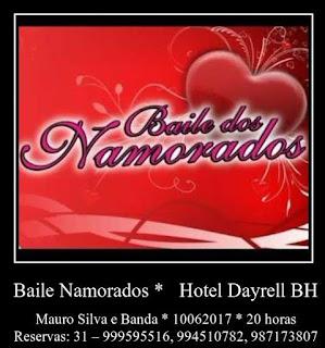 Baile do Dia dos Namorados com Mauro Silva
