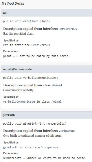 Inheriting Javadoc Method Comments Dzone Java