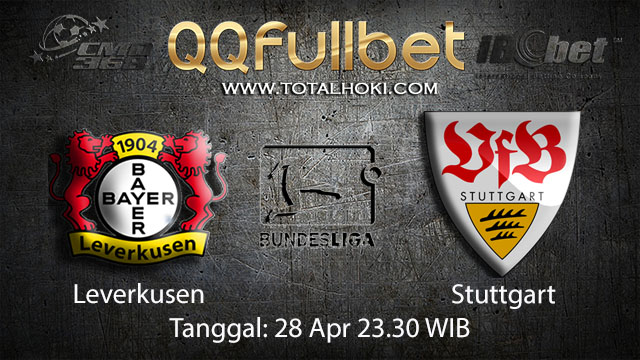 BOLA88 - PREDIKSI TARUHAN BOLA LEVERKUSEN VS STUTTGART 28 APRIL 2018 ( GERMAN BUNDESLIGA )