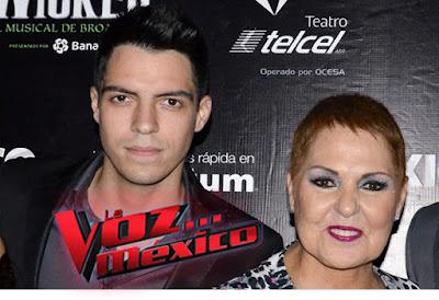 Cesar D´Alessio El Hijo menor de Lupita D´Alessio En La Voz México