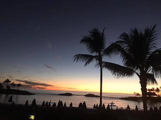 Sunset @ Disney's Aulani Resort