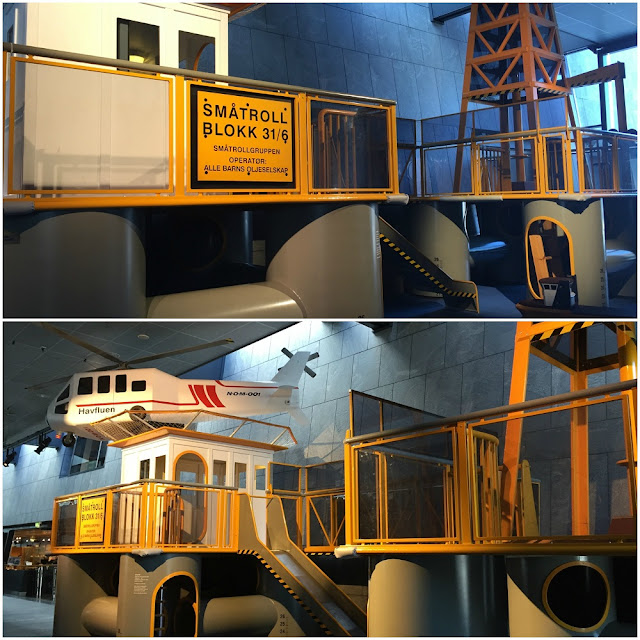 Play areas at the Norwegian Petroleum Museum, Stavanger