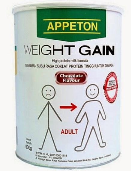 Daftar Harga Susu Appeton Weight Gain Mei 2019
