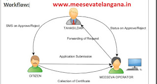 Integrated Certificate (Caste-Nativity-DOB) Application Apply on Meeseva Centers in Telangana AP States
