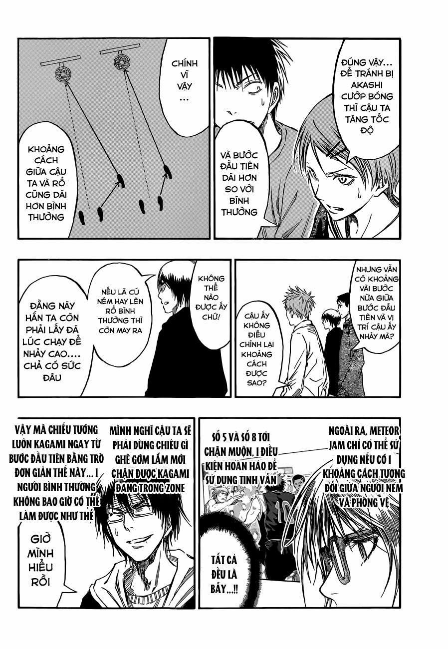Kuroko No Basket chap 234 trang 17