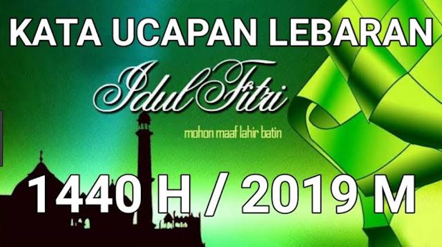 Ucapan Selamat Idul Fitri yang Benar dan Terbaru