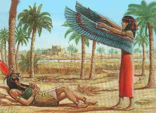 Isis y el Dios Ra
