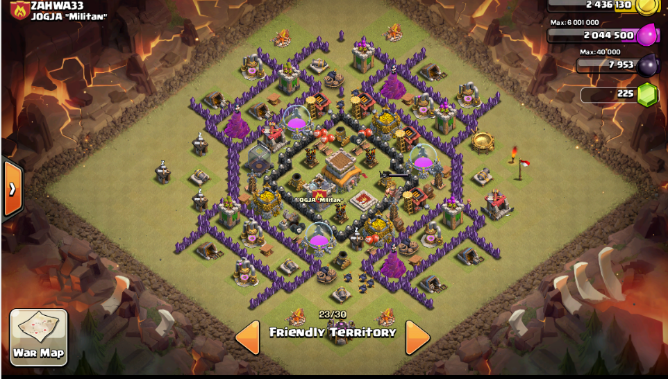 Th8 farming base town hall 8 defense coc th8 farming base best