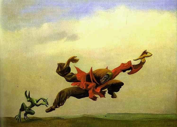 O Anjo da Casa - O Surrealismo de Max Ernst | Alemão