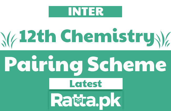 2nd year Chemistry Pairing scheme 2020 | Assessment scheme