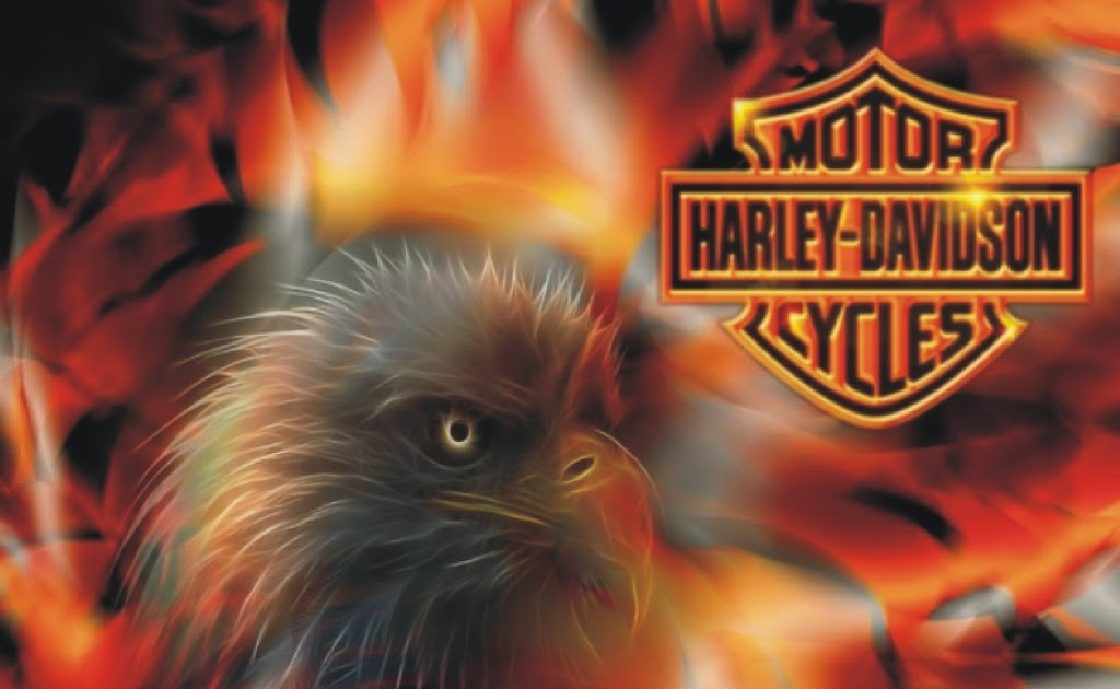 Indoor Vehicle Storage >> Harley Davidson Logo With Flames Wallpaper | Wallpaper For ...