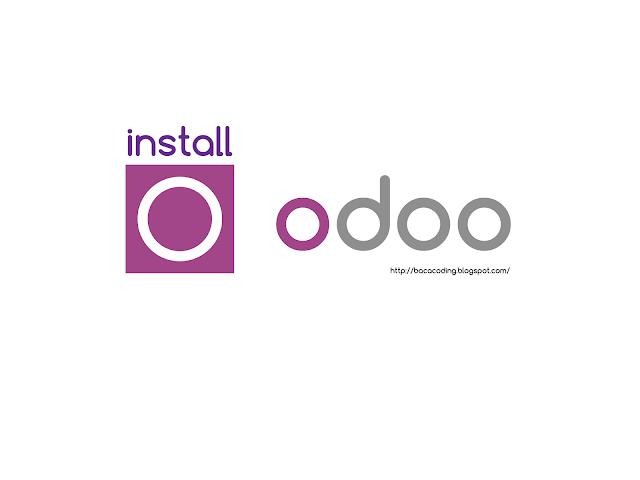 Cara Mudah Install Odoo 11.0 di Localhost