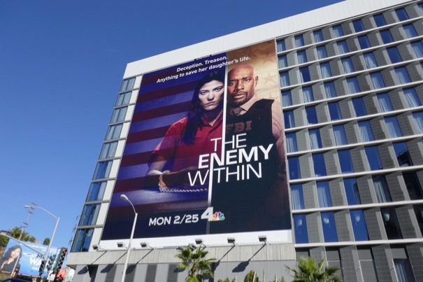 Enemy Within series premiere billboard
