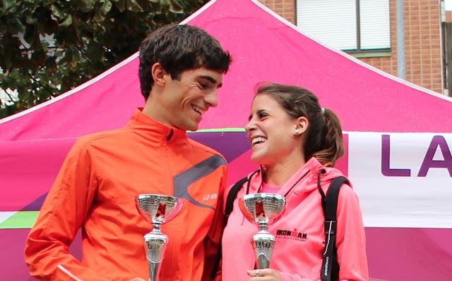 Natalia Gómez y Xabier Tijero